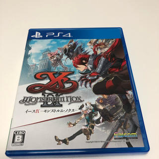 プレイステーション4(PlayStation4)のイースIX イース9  -Monstrum NOX- PS4 中古(家庭用ゲームソフト)