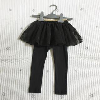 プチバトー(PETIT BATEAU)のプチバトー  チュールスカート付き  カルソン  24m(パンツ/スパッツ)