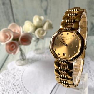 クリスチャンディオール(Christian Dior)の【希少】Christian Dior ディオール 腕時計 48.153 11P(腕時計)