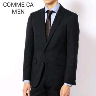 コムサメン(COMME CA MEN)のCOMME CA MEN スーツ シャドーストライプ 44 F(セットアップ)
