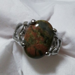 ユカナイト リング 天然石 シルバー 11号(リング(指輪))