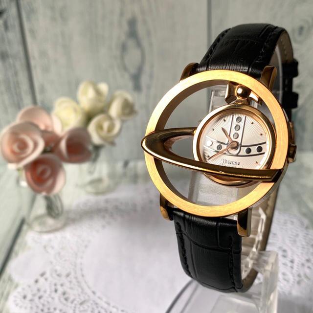 Vivienne Westwood - 【電池交換済み】 ヴィヴィアン サークルオーブ ピンクゴールド 腕時計の通販