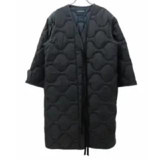 マディソンブルー(MADISONBLUE)の新品 マディソンブルー コート ブラック00(ダウンコート)
