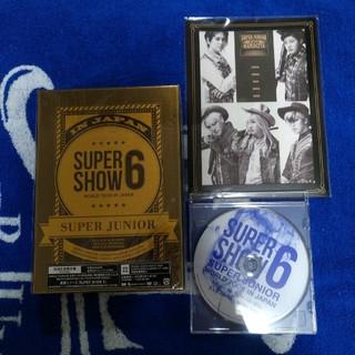 スーパージュニア(SUPER JUNIOR)のSUPER JUNIOR SS6 DVD(ミュージック)