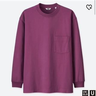ユニクロ(UNIQLO)のクルーネックT(Tシャツ/カットソー(七分/長袖))