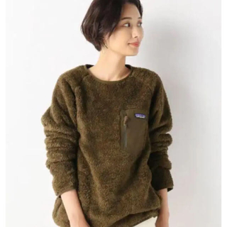 パタゴニア(patagonia)のパタゴニア ロスガトスクルー 美品 Sサイズ(ニット/セーター)