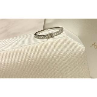 アーカー(AHKAH)のAHKAH♡ソルティアスタビーリング バケット ダイヤモンドリング 豪華 WG(リング(指輪))