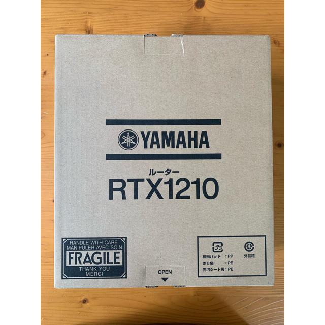 ヤマハ(ヤマハ)のYAMAHA RTX1210 ルーター スマホ/家電/カメラのPC/タブレット(PC周辺機器)の商品写真