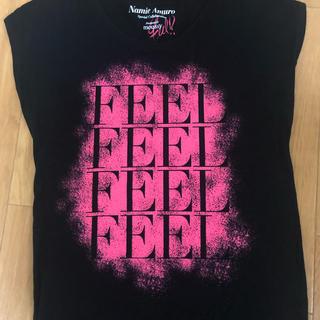 マウジー(moussy)の安室奈美恵 FEEL TOUR 2013 グッズ Tシャツ(ミュージシャン)