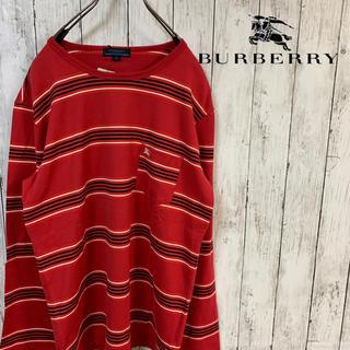 バーバリーブルーレーベル(BURBERRY BLUE LABEL)のBURBERRY BLUE LABEL バーバリーボーダーシャツ(Tシャツ/カットソー(七分/長袖))