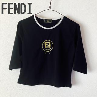 フェンディ(FENDI)のFENDI トップス  七部丈 美品(カットソー(長袖/七分))
