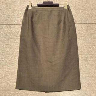 ニューヨーカー(NEWYORKER)のNEWYORKER ニューヨーカー スカート グレー 7(ひざ丈スカート)