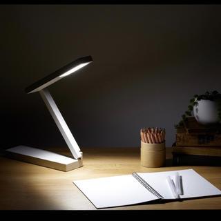 MUJI (無印良品) - 限定!!無印良品★新品★ LED平面発光コンパクトデスクライト☆フロア デスク