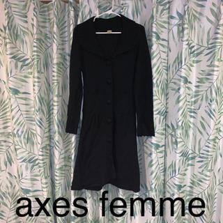 アクシーズファム(axes femme)の値下げ‼️美品‼️axes femme ロングカーディガン(カーディガン)