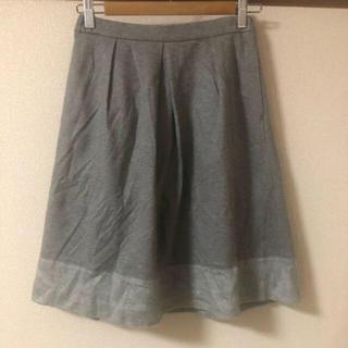 ニューヨーカー(NEWYORKER)のニューヨーカー  blue スカート   (ひざ丈スカート)