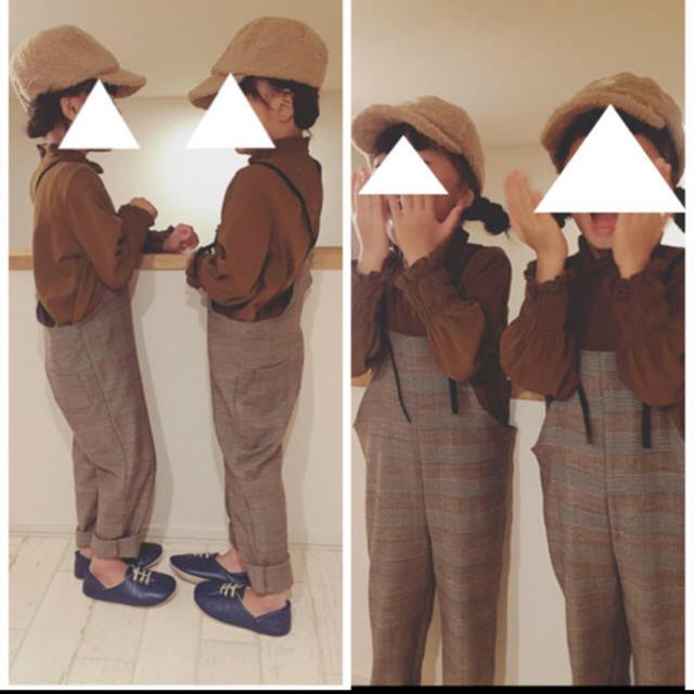 110サイズ*シャーリングブラウス キッズ/ベビー/マタニティのキッズ服女の子用(90cm~)(ブラウス)の商品写真