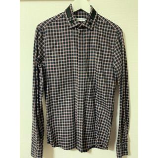 ジバンシィ(GIVENCHY)の【GIVENCHY】チェックシャツ(シャツ)