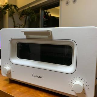 バルミューダ(BALMUDA)のはるる様専用 バルミューダ スチームトースター 中古 ホワイト(調理機器)