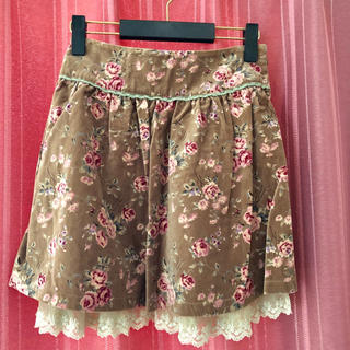 エルディープライム(LD prime)のLD prime 花柄スカート(ミニスカート)
