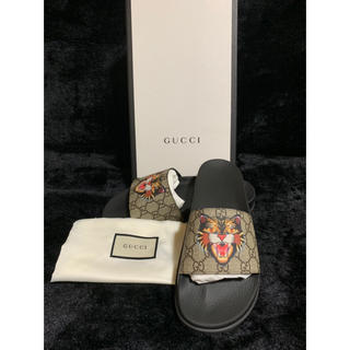 Gucci - 新品 グッチ サンダル gucci ggスプリーム