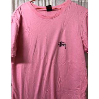 STUSSY - STUSSY Tシャツ ピンク