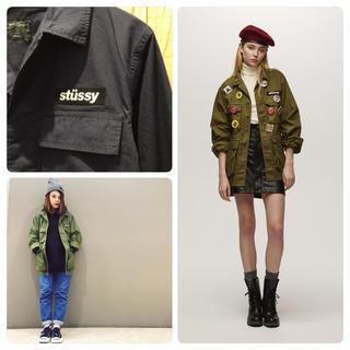 ステューシー(STUSSY)のSTUSSY MilitaryShirt(ミリタリージャケット)