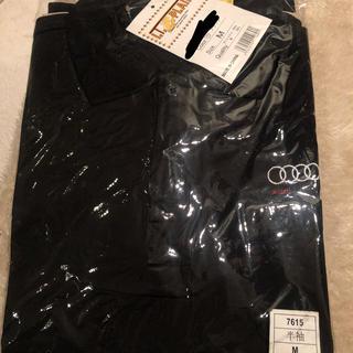 アウディ(AUDI)の【新品】Audi アウディ 半袖ポロシャツ 黒 Mサイズ(ポロシャツ)