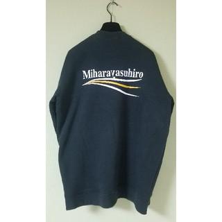 MIHARAYASUHIRO - ミハラヤスヒロ スウェットトレーナー 黒 Lサイズ