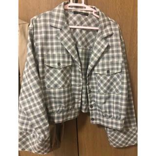 ダブルクローゼット(w closet)のショートジャケット(Gジャン/デニムジャケット)