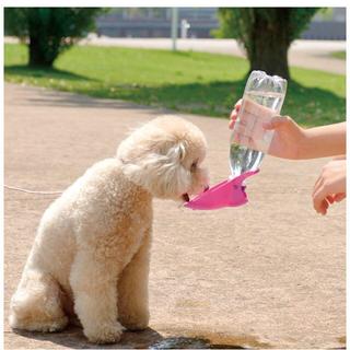 リッチェル(Richell)のRichell お散歩ハンディシャワー ピンク   Sサイズ(犬)