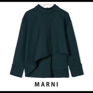 マルニ(Marni)のイタリア製 MARNI マルニ アシメトリー トップス 12Y 大人OK 新品(ニット/セーター)