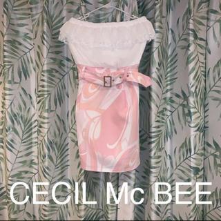 セシルマクビー(CECIL McBEE)の最終値下げ‼️新品未使用‼️CECIL Mc BEE ドレス ワンピース(ナイトドレス)