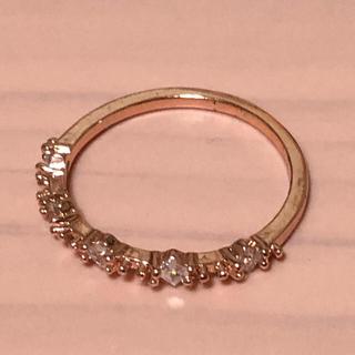 ピンクゴールドリング(リング(指輪))