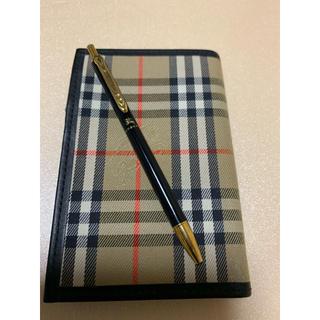 バーバリー(BURBERRY)のBurberry手帳 ボールペン付き(その他)