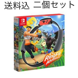 ニンテンドースイッチ(Nintendo Switch)の任天堂 スイッチ リングフィットアドベンチャー(家庭用ゲームソフト)