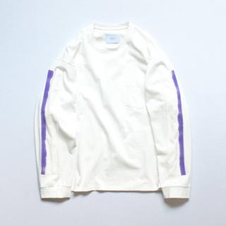 サンシー(SUNSEA)のstein oversized long sleeve tee 19aw(Tシャツ/カットソー(七分/長袖))