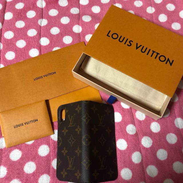 スマホケース 手帳 iphone8 、 LOUIS VUITTON - VUITTON iPhoneカバーの通販