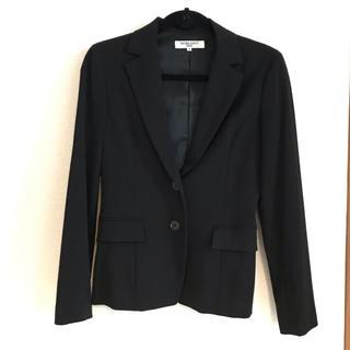 ナチュラルビューティーベーシック(NATURAL BEAUTY BASIC)のNATURAL BEAUTY BASIC スカートスーツ上下 ブラック(スーツ)