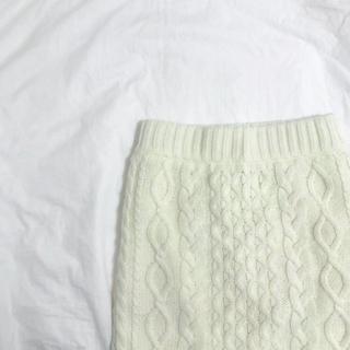 LOWRYS FARM ニットスカート