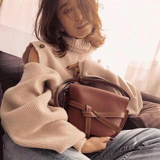 ルシェルブルー(LE CIEL BLEU)のIRENE☆完売MerinoWool Glove Knit BRW(ニット/セーター)