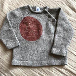プチバトー(PETIT BATEAU)のプチバトー セーター(ニット/セーター)