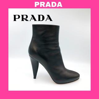 PRADA - 【⭐️超大人気⭐️】PRADA サイドジップ ショートブーツ 黒