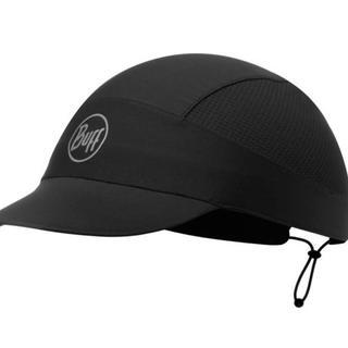 SALOMON - 【黒】バフ  BUFF キャップ  帽子 ランニングキャップ