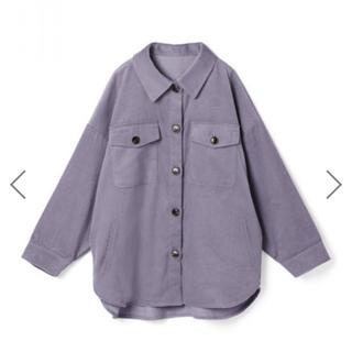 グレイル(GRL)のGRL コーデュロイオーバーシャツ(Gジャン/デニムジャケット)