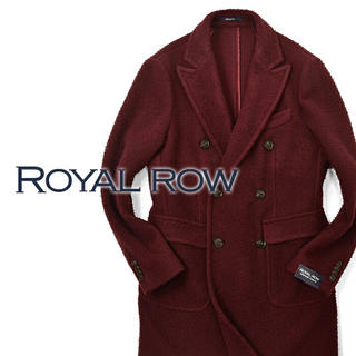 ビームス(BEAMS)のmyismy 様168,000円 ROYAL ROW ウールチェスターコート(チェスターコート)