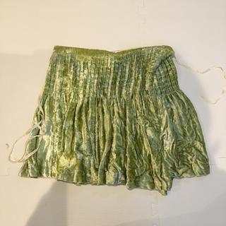 トーガ(TOGA)のTOGAクラッシュベルベット巻きスカート(ミニスカート)