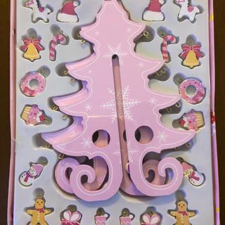 スリーコインズ(3COINS)の3COINS☆木製クリスマスツリー(置物)