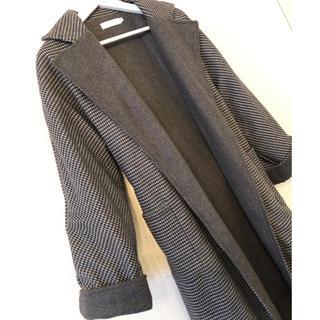【未使用】ベルト付きコート (ロングコート)