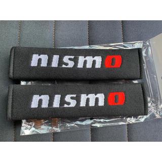 ニッサン(日産)の☆送料無料☆ニスモ NISMO シートベルトカバー☆(車内アクセサリ)