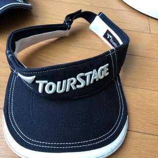 ツアーステージ(TOURSTAGE)のゴルフ キャップ L(ウエア)